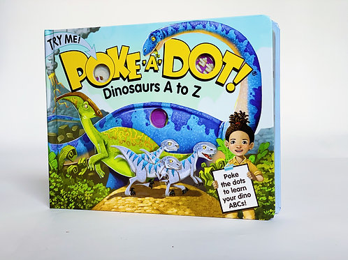 Poke-a-Dot: Dinosaurs A to Z
