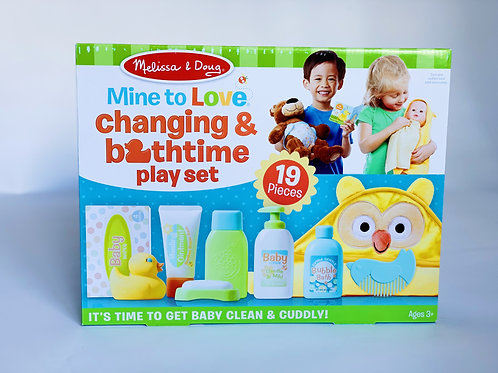 Changing and Bathtime Playset
