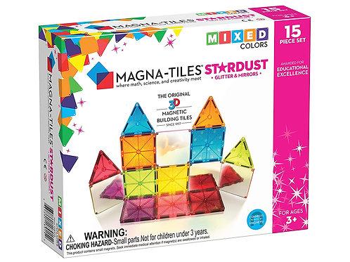 Magna-Tiles Stardust Set, The Original Magnetic Building Tiles for Creative Open