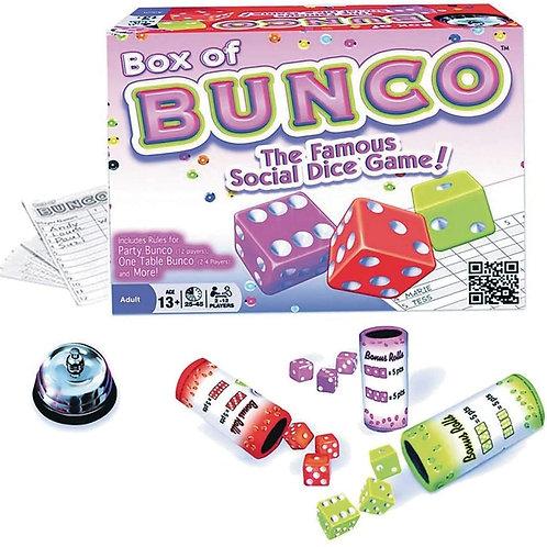 Continuum Games - Box of Bunco Game, Multicolored Dice