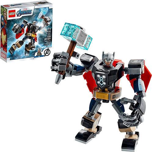 LEGO Marvel Avengers Classic Thor Mech Armor 76169 Cool Thor Hammer Playset; Su