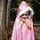 Thumbnail: GLITTER PRINCESS CAPE PINK