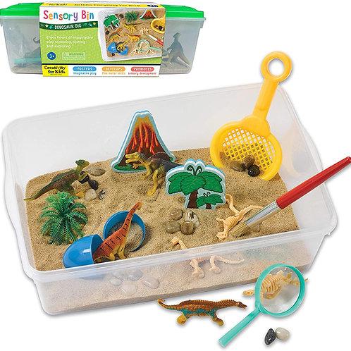 Creativity for Kids Sensory Bin: Dinosaur Dig - Dinosaur Toys for Toddler Boys a