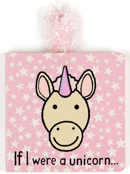 Jellycat Baby Touch and Feel Board Books, If I were a Unicorn