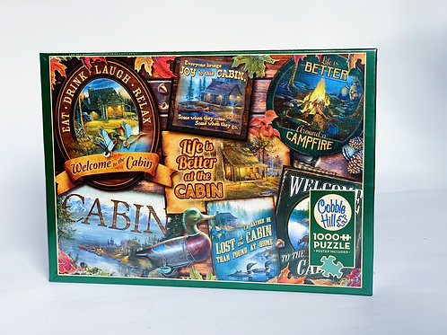 Cabin Signs 1000pc Puzzle