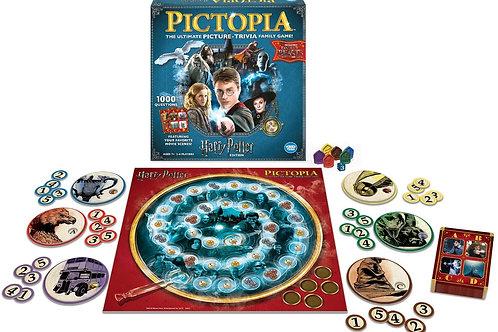 Ravensburger 22491 Harry Potter Pictopia Edition The Picture Trivia Game, Multi