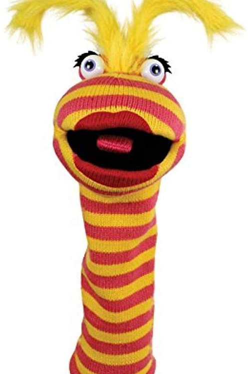 The Puppet Company - Knitted Puppet - Lipstick