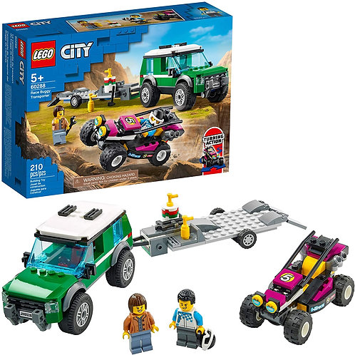 LEGO City Race Buggy Transporter 60288 Building Kit; Fun Toy for Kids, New 2021