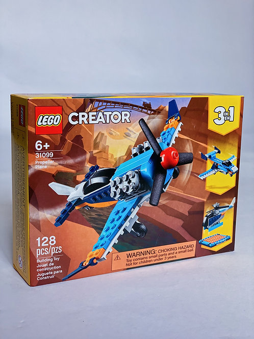 Propeller Plane LEGO 3-in-1
