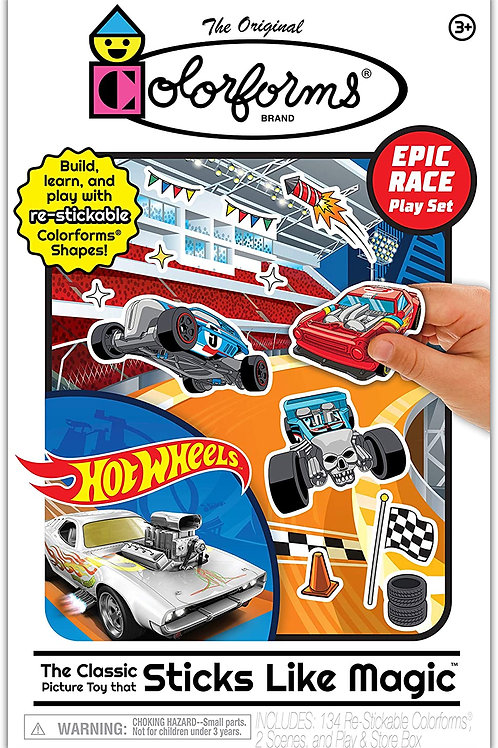 Colorforms Playset – Hot Wheels