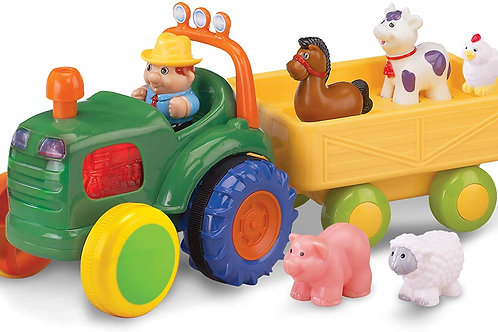 Kidoozie Funtime Tractor Original Version, 15.75 x 6.75 x 7.50 Inches