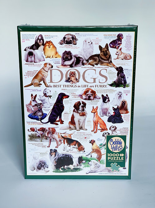 Dogs 1000pc Puzzle