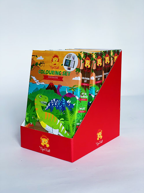 Coloring Set: Dinosaurs