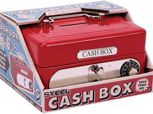 This is the perfect place to stash your cash, coins and collectible treasures, k