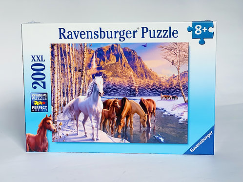 Winter Horses XXL 200pc Puzzle