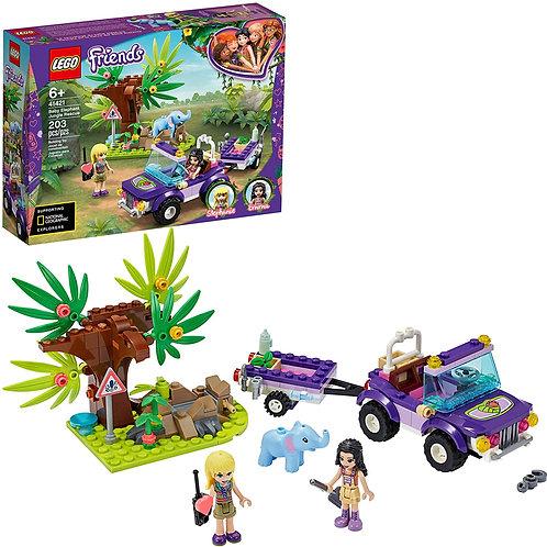 LEGO Friends Baby Elephant Jungle Rescue 41421 Adventure Building Kit; Animal Re