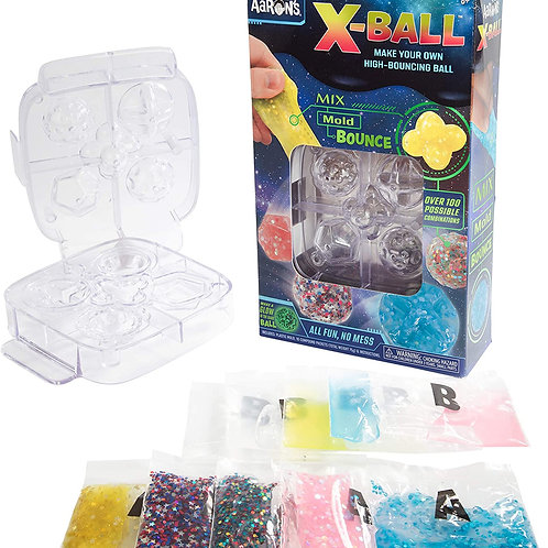 Crazy Aaron's Make Your Own Putty Bouncy Ball Kit - X-Ball Thinking Putty Activi