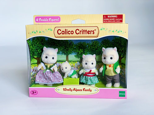 Calico Critters Woolly Aplaca Family
