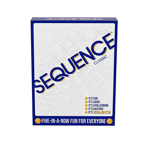 SEQUENCE- Original SEQUENCE Game with Folding Board, Cards and Chips by Jax ( Pa