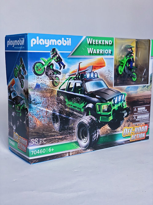 Weekend Warrior Playmobil