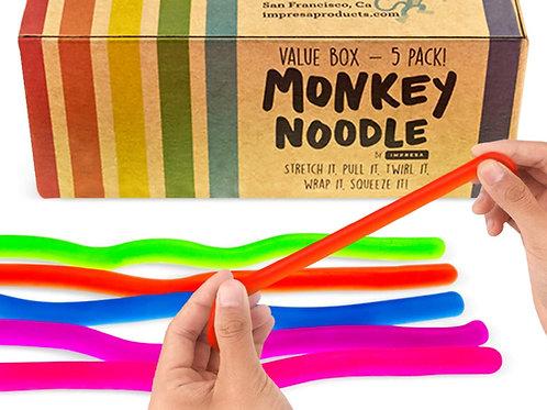 Impresa Products 5-Pack of Stretchy String Fidget / Sensory Toys (BPA/Phthalate