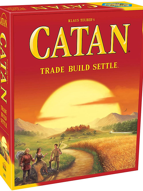 Catan Board Game (Base Game) | Family Board Game | Board Game for Adults and Fam