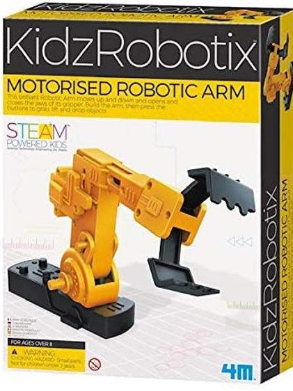 4M Motorized Robotic Claw Arm Kids Science Kit