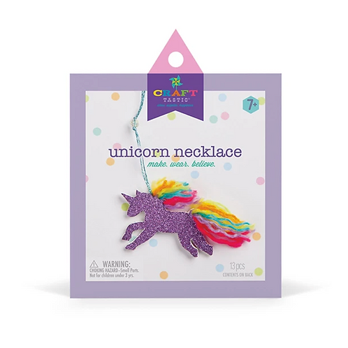 Craft-tastic Unicorn Necklace