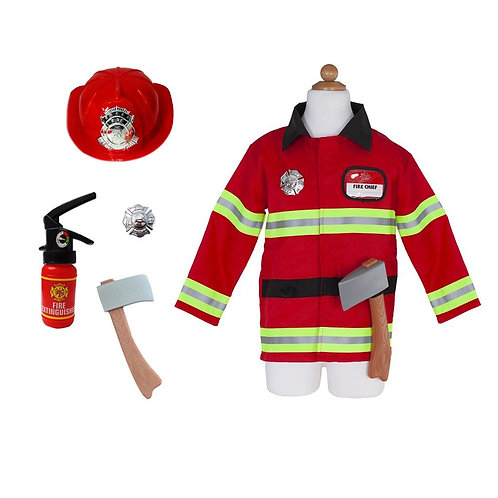 FIREFIGHTER WITH ACCESSORIES