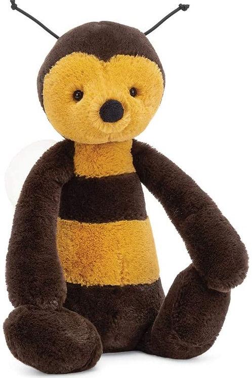 Jellycat Bashful Bee Stuffed Animal, Medium 12 inches