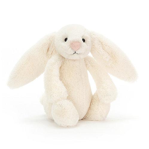 "Jellycat Bashful Cream Bunny small 7"""