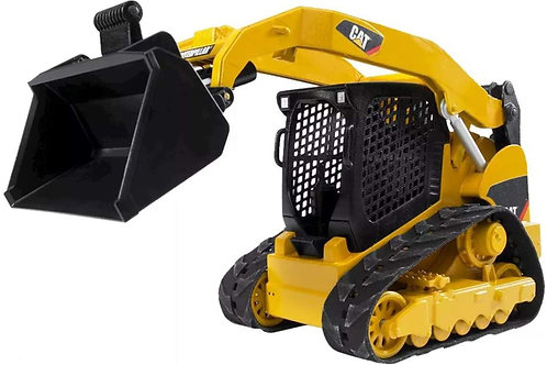 Bruder Toys - Construction Realistic CAT Compact Track Loader with Adjustable a