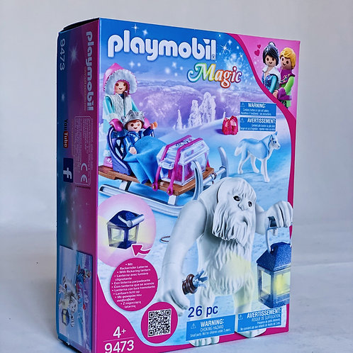 Yeti with Sleigh Playmobil Magic