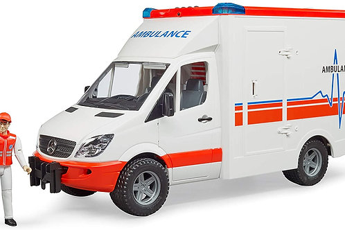 Made in Germany; Made of highest-quality ABS plastic; scale 1: 16 Includes an am