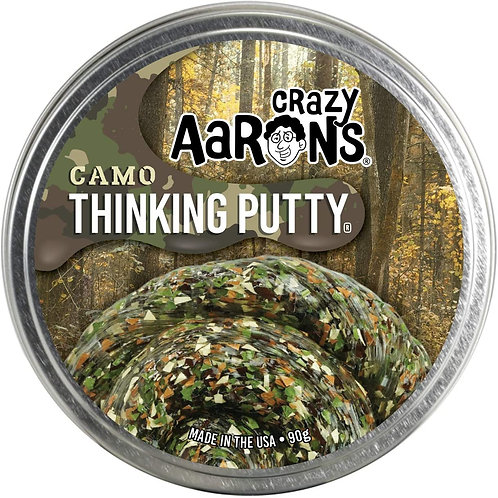 """Crazy Aaron's Camo Trendsetter Putty - 4"""" Camouflage Putty (3.2 Ounces) - Non-To"""