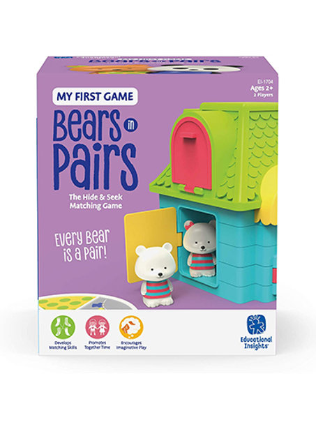 Educational Insights My First Game: Bears in Pairs, First Memory & Matching Game