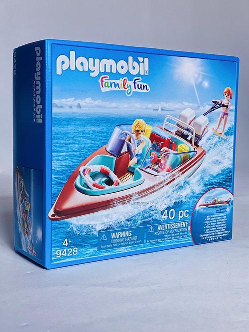 Speedboat Playmobil Family Fun
