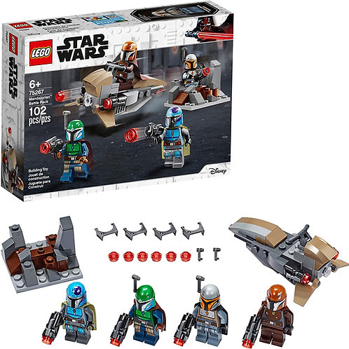 LEGO Star Wars Mandalorian Battle Pack 75267 Mandalorian Shock Troopers and Spee