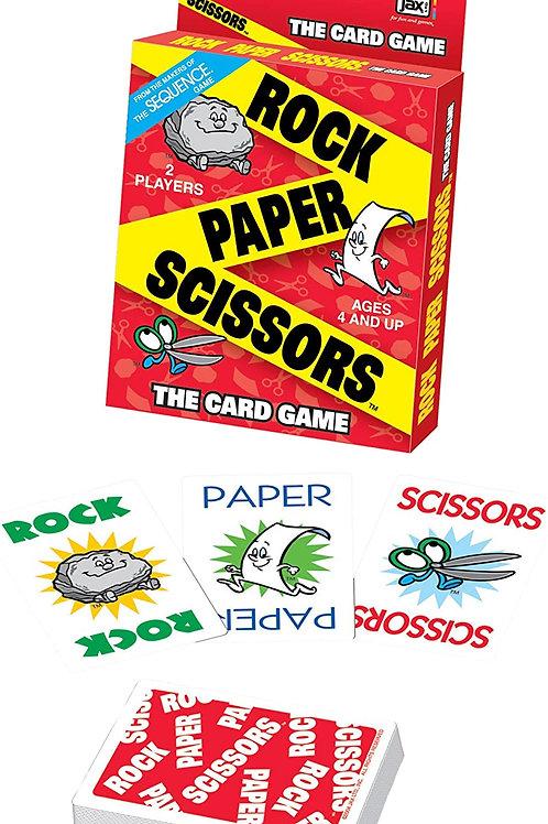 Jax Rock Paper Scissors - It's the Fast, Fun Card Version of the Classic Game of