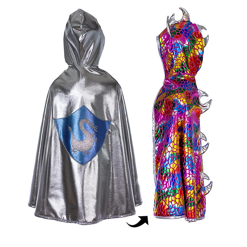 Search HOME / PRODUCTS / DRAGON KNIGHT REVERSIBLE CAPE DRAGON KNIGHT REVERSIBLE