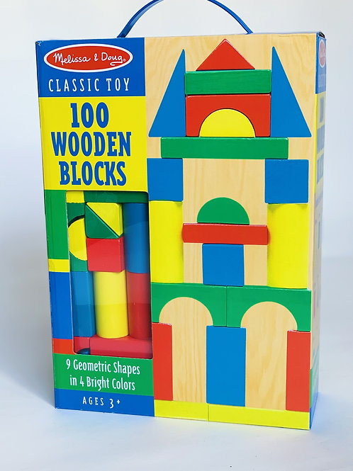100 Wooden Blocks
