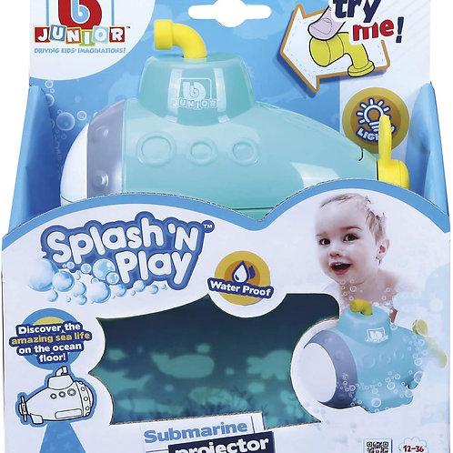 Toysmith Splash 'n Play Submarine Projector Bath Toy