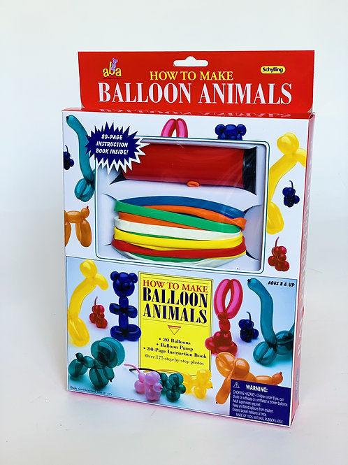 How to Make Balloon Animals and Refill Balloons