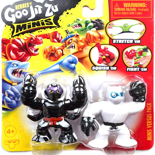 Heroes of Goo JIT Zu Minis Versus Pack  Pantaro vs Scorpius