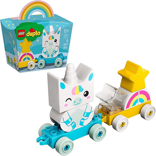 LEGO DUPLO My First Unicorn 10953 Pull-Along Unicorn for Young Kids; Great Toy f