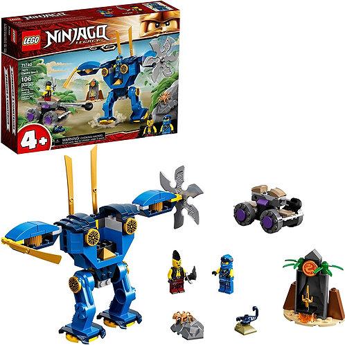 LEGO NINJAGO Legacy Jay's Electro Mech 71740 Ninja Toy Building Kit Featuring Co