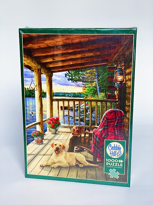 Porch Scene 1000pc Puzzle