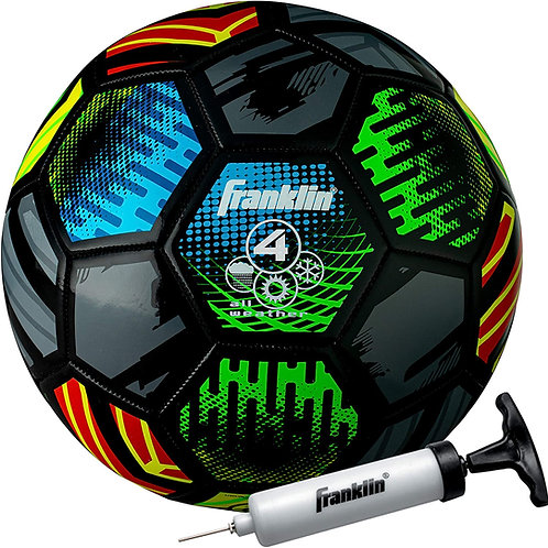Franklin Sports Mystic Soccer Balls - Soccer Ball and Air Pump Sets - Multiple