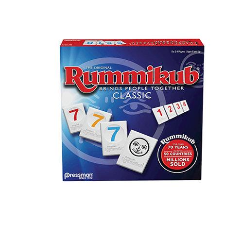 Rummikub by Pressman - Classic Edition - The Original Rummy Tile Game, Blue