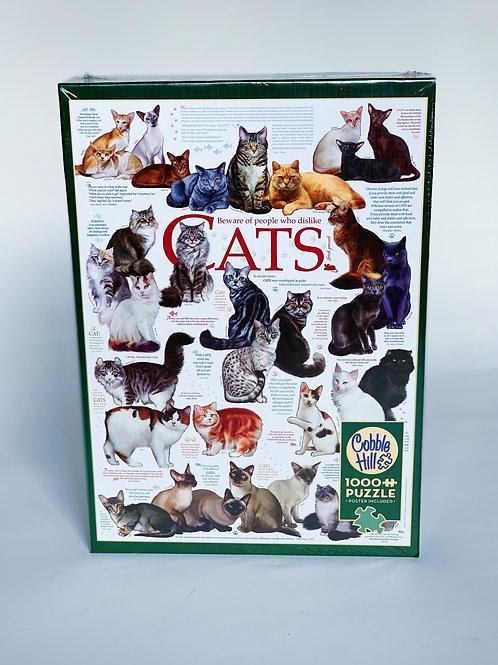 Cats 1000pc Puzzle